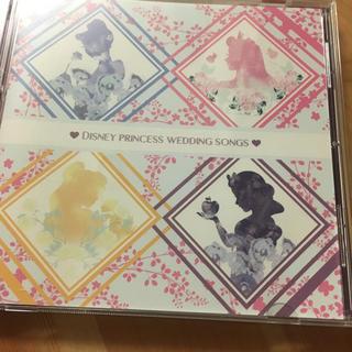 ディズニー(Disney)のエスクリ ディズニー 結婚式 CD(アニメ)