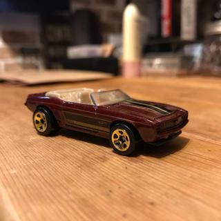 シボレー(Chevrolet)のHW 69 シボレー カマロ アメ車 ミニカー(ミニカー)