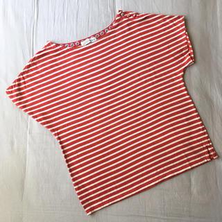 ニーム(NIMES)のLes Olivades レゾリヴァード ボーダーTシャツ(Tシャツ(半袖/袖なし))