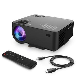 新品・送料無料★ミニ LEDプロジェクター 1080PフルHD対応