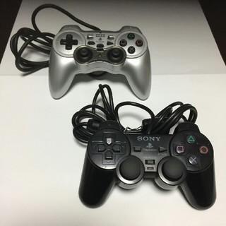 プレイステーション2(PlayStation2)のプレステ2用 コントローラ2機セット (その他)
