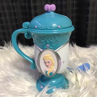 アナトユキノジョオウ(アナと雪の女王)のレア★アナ雪コップ&オラフ付スプーンセット(グラス/カップ)