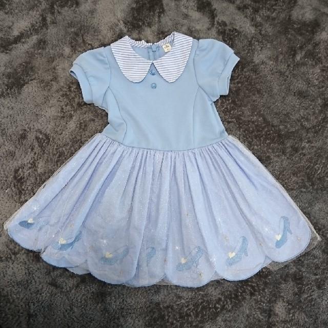 3333689c77102 Disney(ディズニー)のシンデレラ ディズニー プリンセス ドレス ワンピース 90cm キッズ ベビー マタニティ