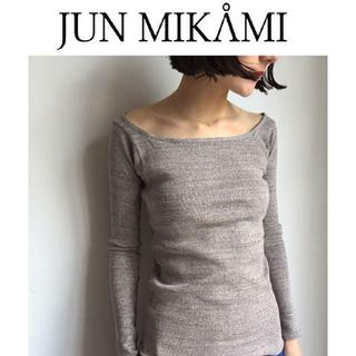 ジョンリンクス(jonnlynx)の(えりんこ様専用) junmikami リブ カットソー 新品(Tシャツ(長袖/七分))