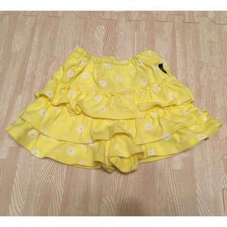 ベルメゾン(ベルメゾン)のキュロットスカート サイズ80(スカート)