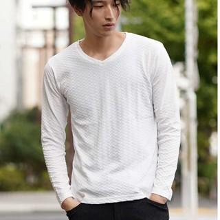 エムケーミッシェルクラン(MK MICHEL KLEIN)の新品 タグ付き ミッシェルクラン ロングTシャツ BEAMS シップス(Tシャツ/カットソー(七分/長袖))