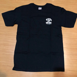 ハイスタンダード(HIGH!STANDARD)のpizza of  death Tシャツ 黒白(Tシャツ/カットソー(半袖/袖なし))
