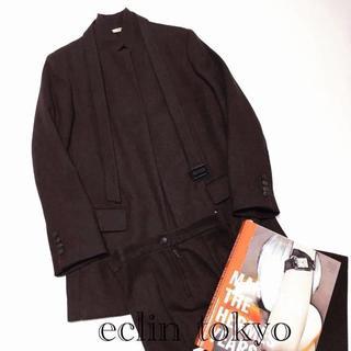 エルメス(Hermes)のHERMES マルジェラ期 セットアップ スーツ ボルドー ジャケットE1051(スーツ)