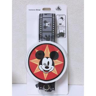 ディズニー(Disney)のカメラストラップ(ミッキー)(デジタル一眼)