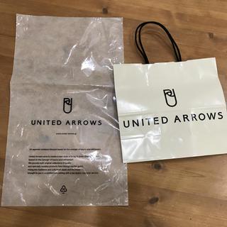 ビューティアンドユースユナイテッドアローズ(BEAUTY&YOUTH UNITED ARROWS)のUNITED ARROWS のショップ紙袋(ショップ袋)