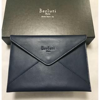 ベルルッティ(Berluti)のBerluti ベルルッティ /  レザーポーチ (未使用)(ポーチ)