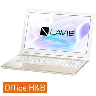 エヌイーシー(NEC)の新品未開封☆NEC LAVIE Smart NS(B) Office付☆納品書添(ノートPC)