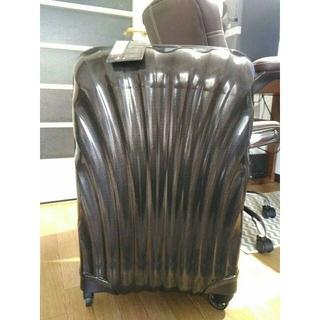 サムソナイト(Samsonite)の新品★サムソナイトコスモライト3.0スピナー69cm68Lスーツケース黒ブラック(トラベルバッグ/スーツケース)