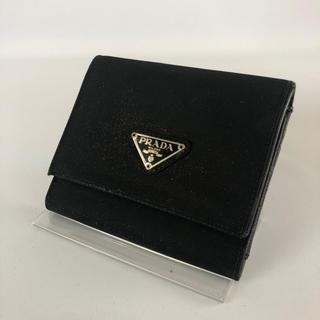 f894f3a3d75a PRADA - 超美品プラダ/人気のブラック三つ折り財布の通販 by あみん's ...