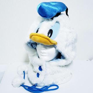 ディズニー(Disney)の【ディズニー】★ドナルドダック被り物★(ニット帽/ビーニー)