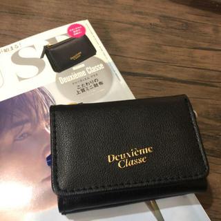 アパルトモンドゥーズィエムクラス(L'Appartement DEUXIEME CLASSE)の大人MUSE3月号付録 人気の上質ミニ財布❤(財布)