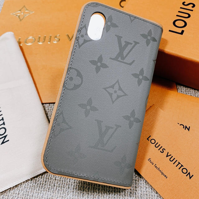 LOUIS VUITTON - 新品未使用 ルイヴィトン フォリオ iPhoneケース iPhoneカバーの通販 by yu's shop|ルイヴィトンならラクマ