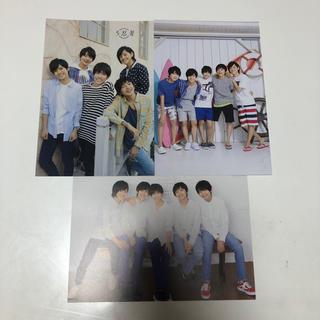 ジャニーズジュニア(ジャニーズJr.)の5忍者 カレンダーポストカード(男性タレント)