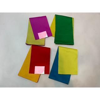 半幅帯 袴下帯 4種類の中から1つ選べます リバーシブル(浴衣帯)