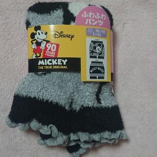 ディズニー(Disney)の新品未使用 L-LL ふわふわパンツ ミッキー Mickey ディズニー (ルームウェア)