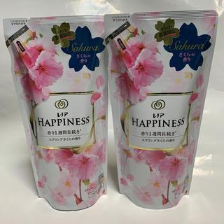 ハピネス(Happiness)のP&G レノアハピネス スプリングさくらの香り 詰め替え用 2個セット(洗剤/柔軟剤)