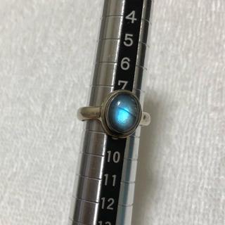 ラブラドライト シルバーリング 8号(リング(指輪))