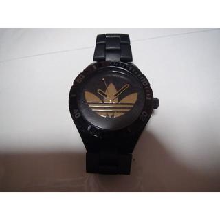 アディダス(adidas)のadidasの腕時計メンズ 黒 クオーツ製 電池式 稼動品(腕時計(アナログ))