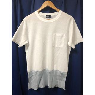 カラー(kolor)のkolor 14ss キュプラ切り替えTシャツ カラー sacai (Tシャツ/カットソー(半袖/袖なし))