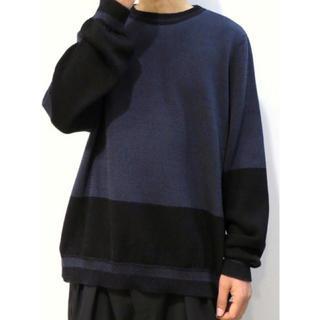 シセ(Sise)のSISE 15ss プルオーバーニット サマーニット 長袖 シセ 黒(ニット/セーター)