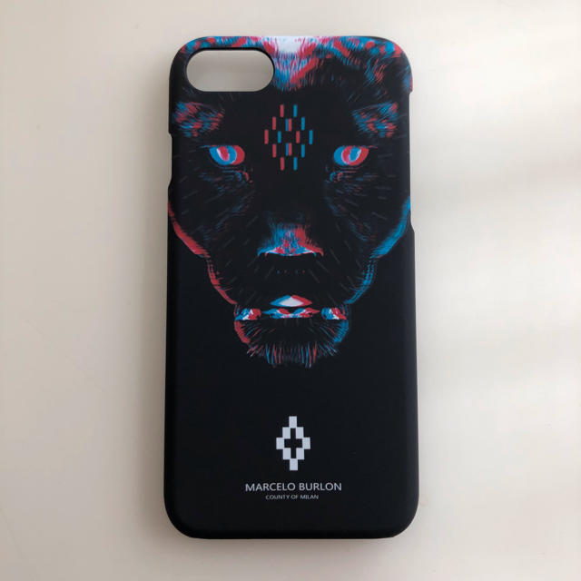 iphone7plus ケース クリア 手帳 | MARCELO BURLON - iPhoneケース マルセロバーロン クロヒョウの通販 by sjy's shop|マルセロブロンならラクマ