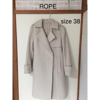ロペ(ROPE)のROPE  冬物 コート サイズ38(ロングコート)