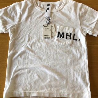 マーガレットハウエル(MARGARET HOWELL)の未使用 MHL キッズT 白(Tシャツ/カットソー)