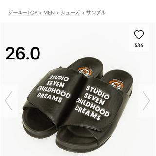 GU - GU seven シャワーサンダル セブン NAOTO