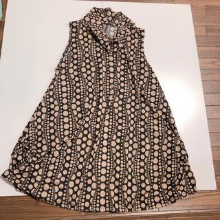 コシノジュンコ(JUNKO KOSHINO)のマダム服 コシノジュンコ風 チュニック ワンピース(ひざ丈ワンピース)