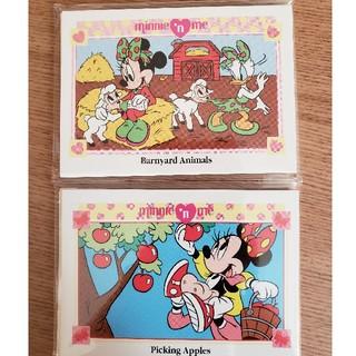 ディズニー(Disney)のミニー トレーディングカード ビンテージ(その他)