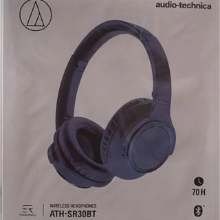オーディオテクニカ(audio-technica)のオーディオテクニカ ATH-SR30BT-BL(ヘッドフォン/イヤフォン)
