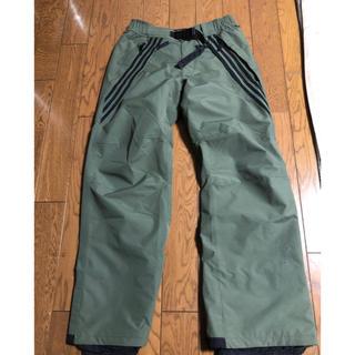 アディダス(adidas)のadidas snowboard pant サイズO(ウエア/装備)