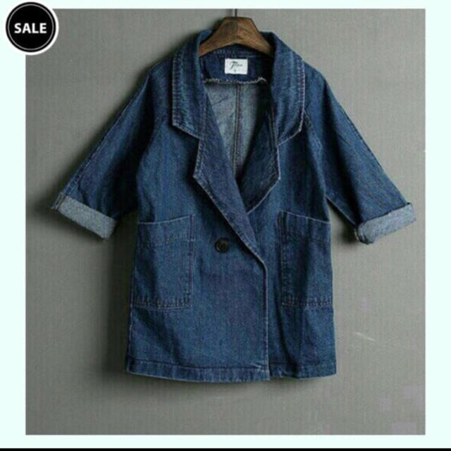 90082beb0e7e1 韓国子供服 薄手デニムジャケット 90〜の通販 by usagi s shop|ラクマ