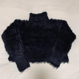 カウイジャミール(KAWI JAMELE)のマルチボーダーニット《 black 》(ニット/セーター)
