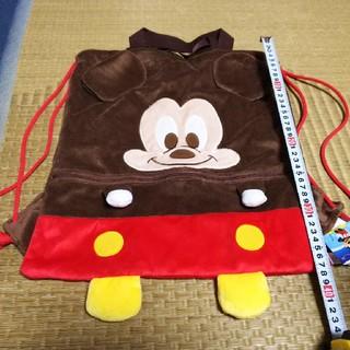 ミッキーマウス(ミッキーマウス)の【値下げ】ミッキーマウス ナップサック  未使用(リュックサック)