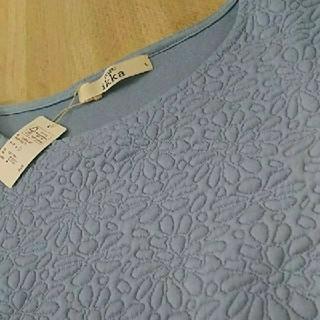 イッカ(ikka)のLサイズ  新品 ikka  袖ブラウス生地のトップス  定価5184円(カットソー(長袖/七分))