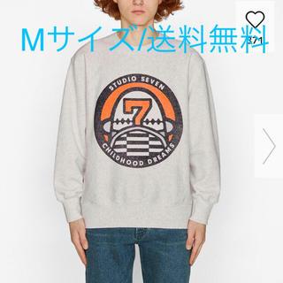 ジーユー(GU)の【Mサイズ】 GU STUDIO SEVEN ビッグスウェット ライトグレー(Tシャツ/カットソー(七分/長袖))