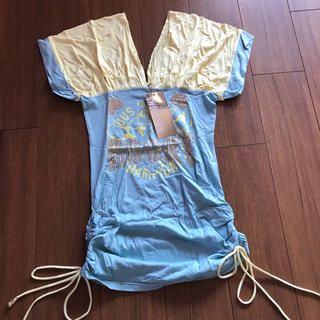 ソードフィッシュ(SWORD FISH)のソードフィッシュ安室奈美恵さん雑誌着用Tシャツワンピース(Tシャツ(半袖/袖なし))