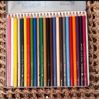 トンボエンピツ(トンボ鉛筆)の色鉛筆24色 トンボ(色鉛筆 )
