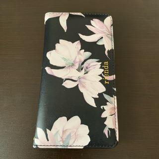 リエンダ(rienda)のきりんさん専用rienda iphoneⅩR iphone ケース 手帳型(iPhoneケース)