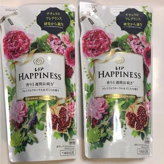ハピネス(Happiness)のP&G レノアハピネス プレミアムフローラル&ざくろの香り 詰め替え用セット(洗剤/柔軟剤)