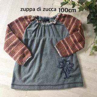 ズッパディズッカ(Zuppa di Zucca)のズッカ 柄切替プルオーバー 110cm スモッグ 送料込み(Tシャツ/カットソー)