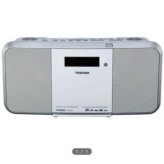 トウシバ(東芝)の昨年末購入 新品 東芝 TY-CRX71(W)(ラジオ)