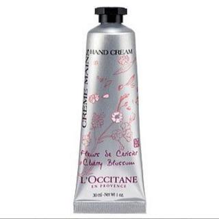 ロクシタン(L'OCCITANE)の【新品未使用】チェリーブロッサム ハンドクリーム(ハンドクリーム)