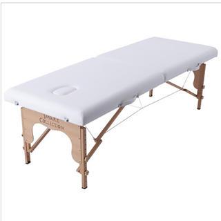軽量木製折りたたみベッド エステベッド 中古(簡易ベッド/折りたたみベッド)